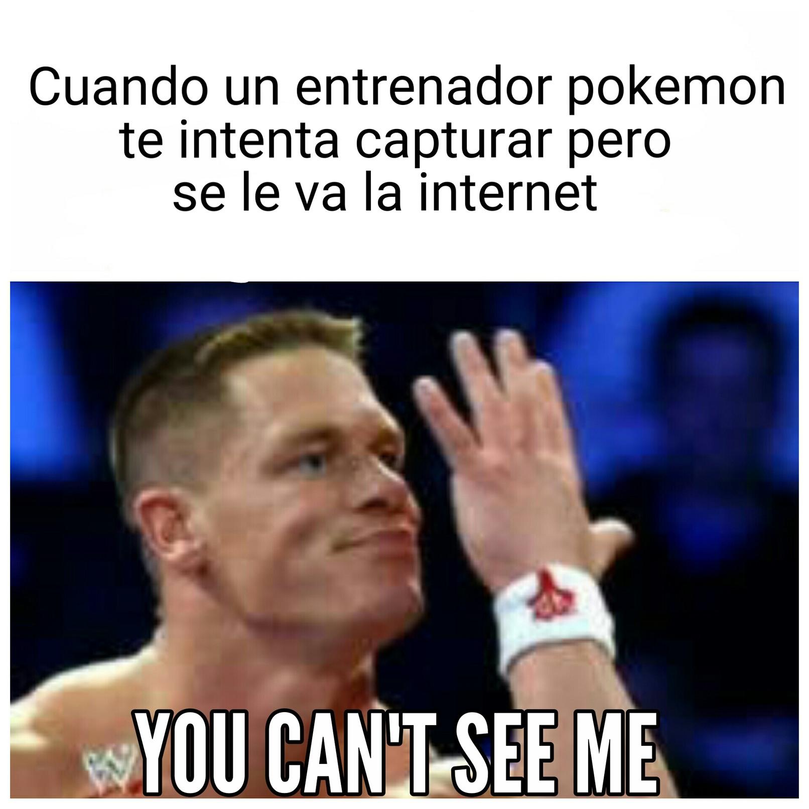U can't see me - meme
