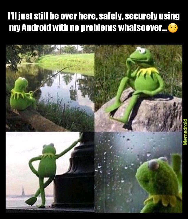 Android Kermit - meme