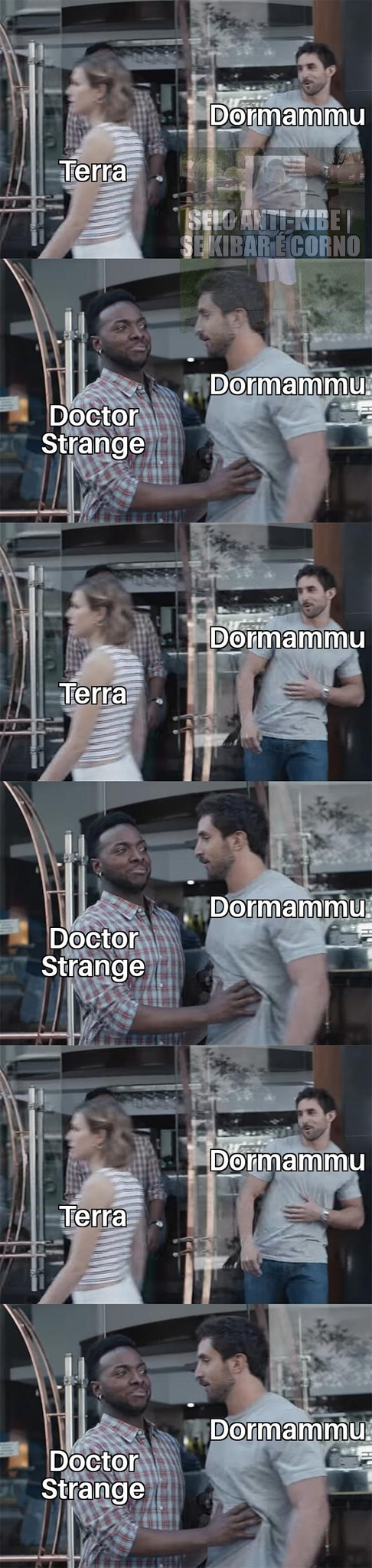 dormammu... I came to bargain :sair: - meme