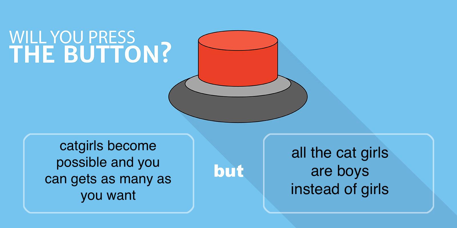 will you press the button - meme