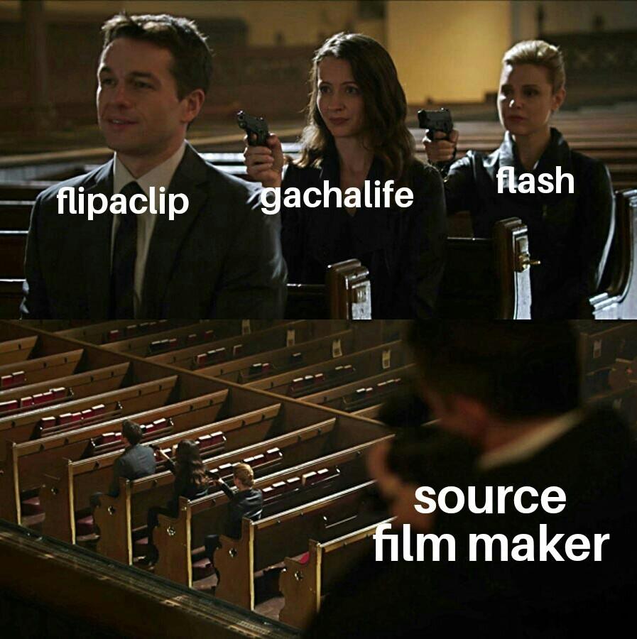 Todos son programas de animacion - meme