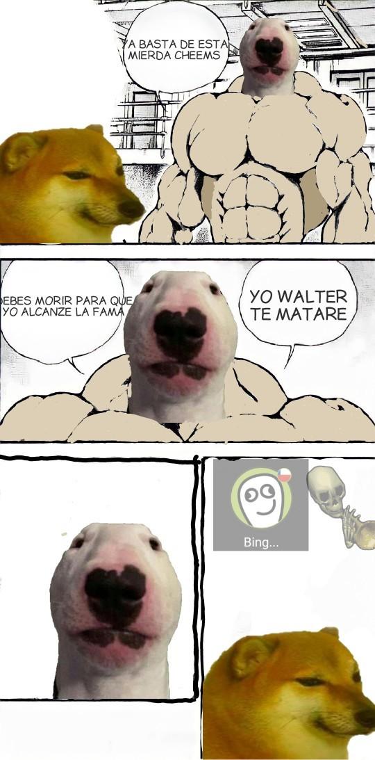 Walter the grappler - meme