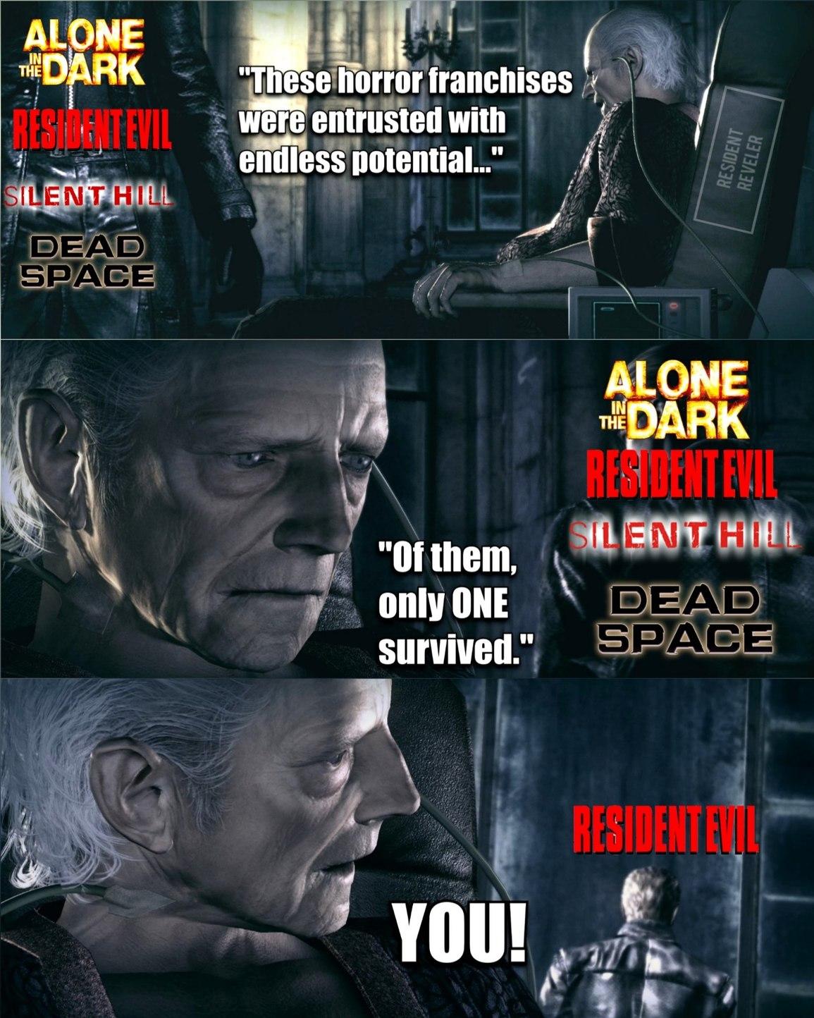 I miss Dead Space  - meme