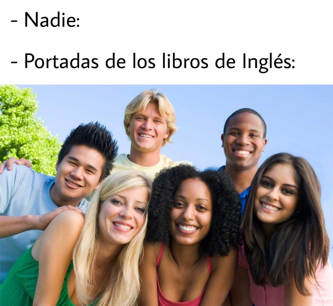 Libros de Inglés  :v - meme