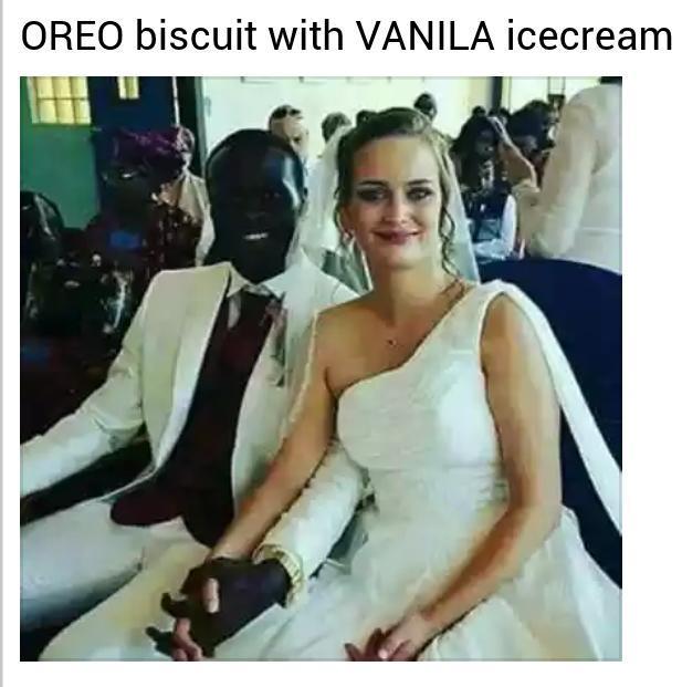 No racism - meme
