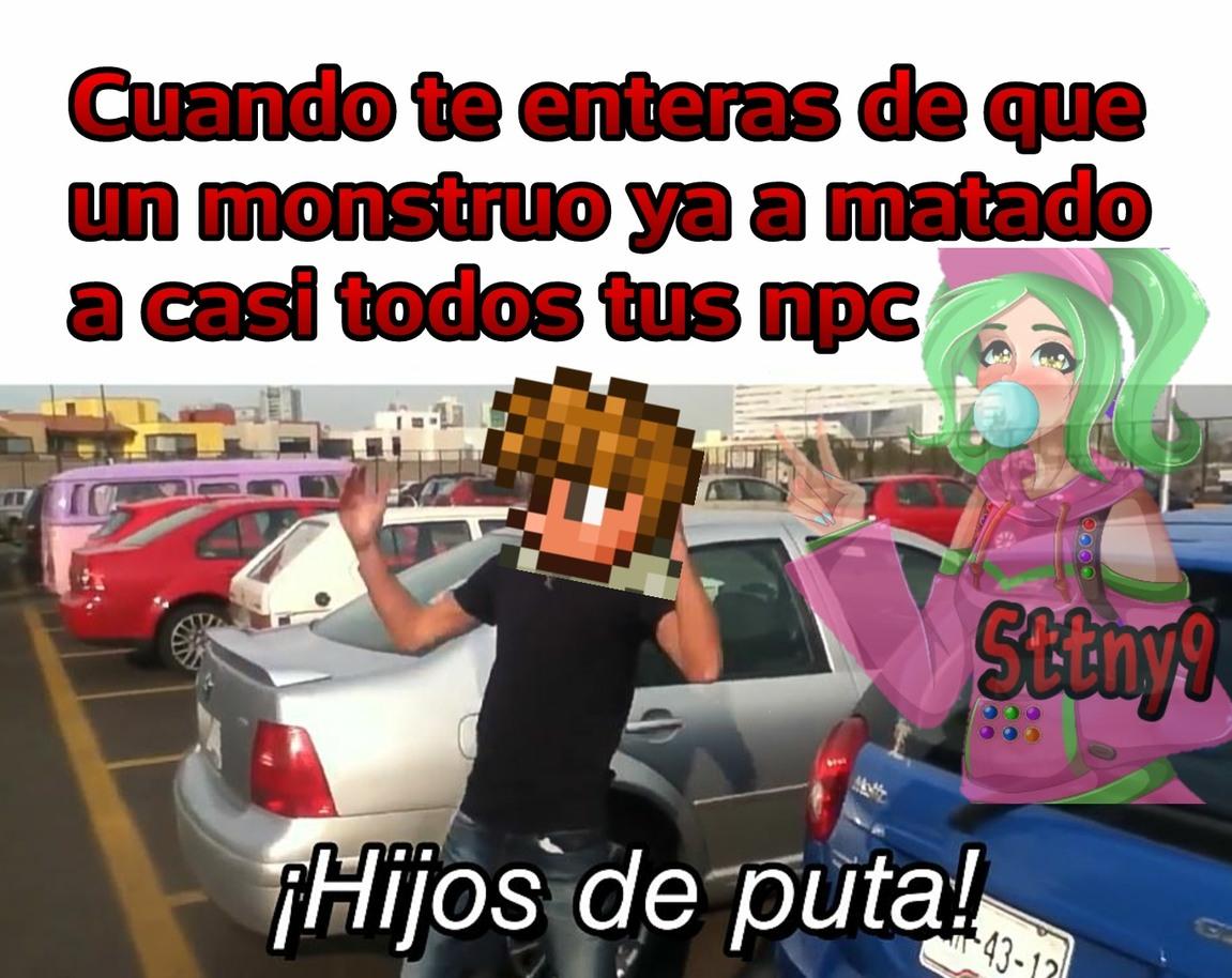 Terraria = maincra 2D - meme