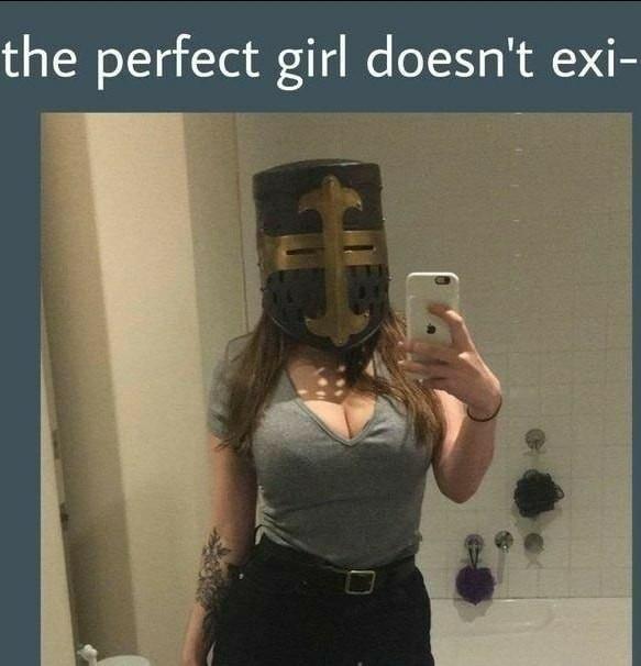 Ah, that is hot  (tradução do meme: a garota perfeita n exi- )