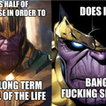 Thanos Movies VS Comics