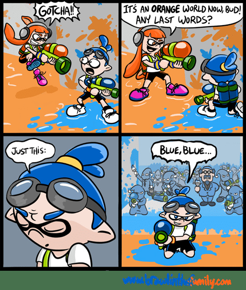Blue!!! Earthbound and mother fan would get dis - meme