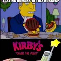 Kirby's calling the police
