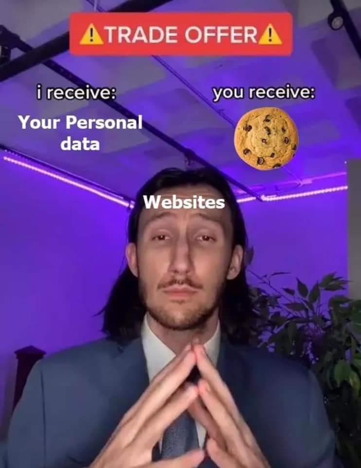 Websites be like - meme