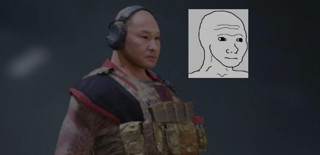 Guadafak wojak en call of duty - meme