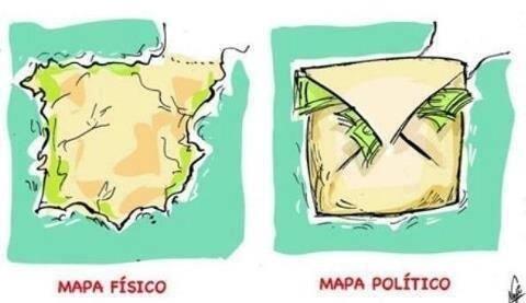 Situación actual de España - meme