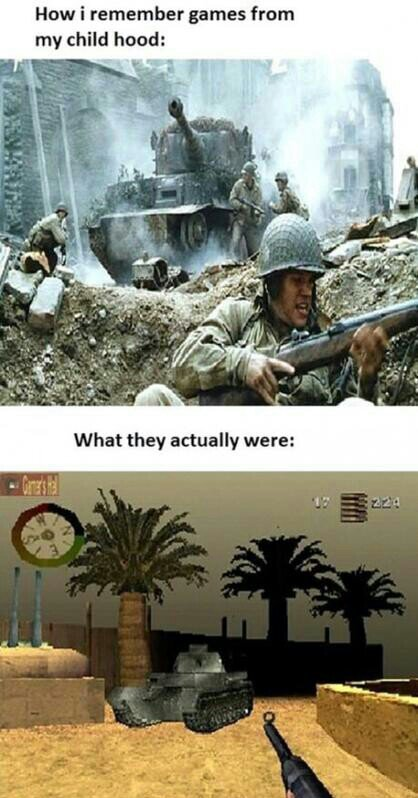 Call of duty or Battlefield? - meme