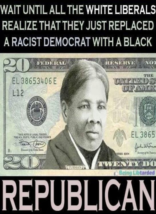 Title is a black republican - meme