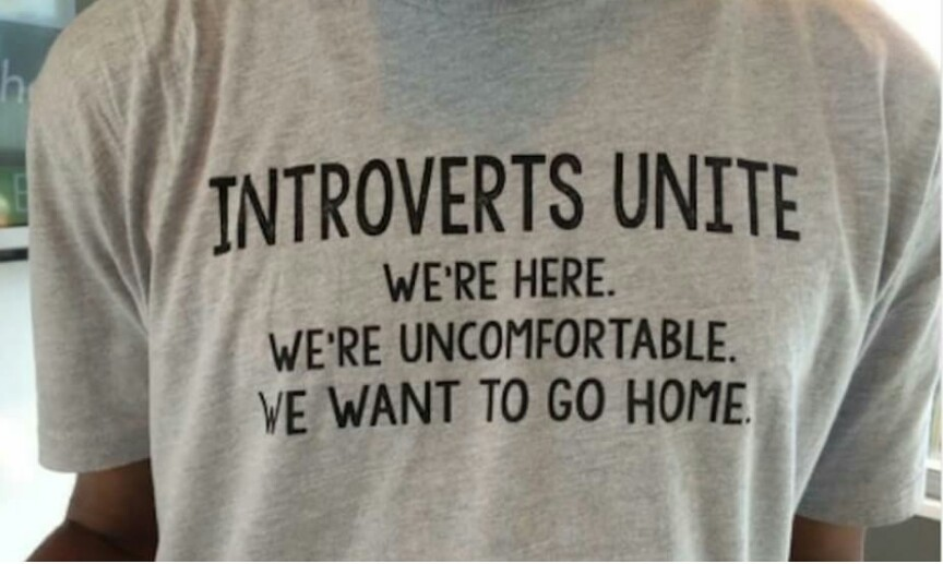Introverts unite - meme
