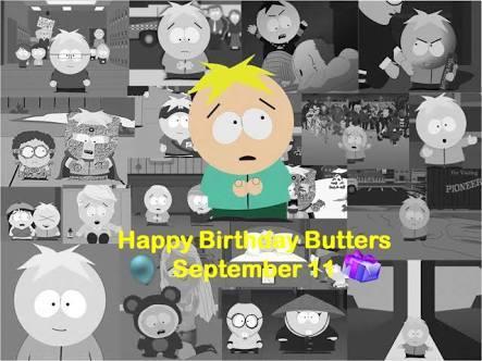 Feliz aniversário Butters!!! - meme