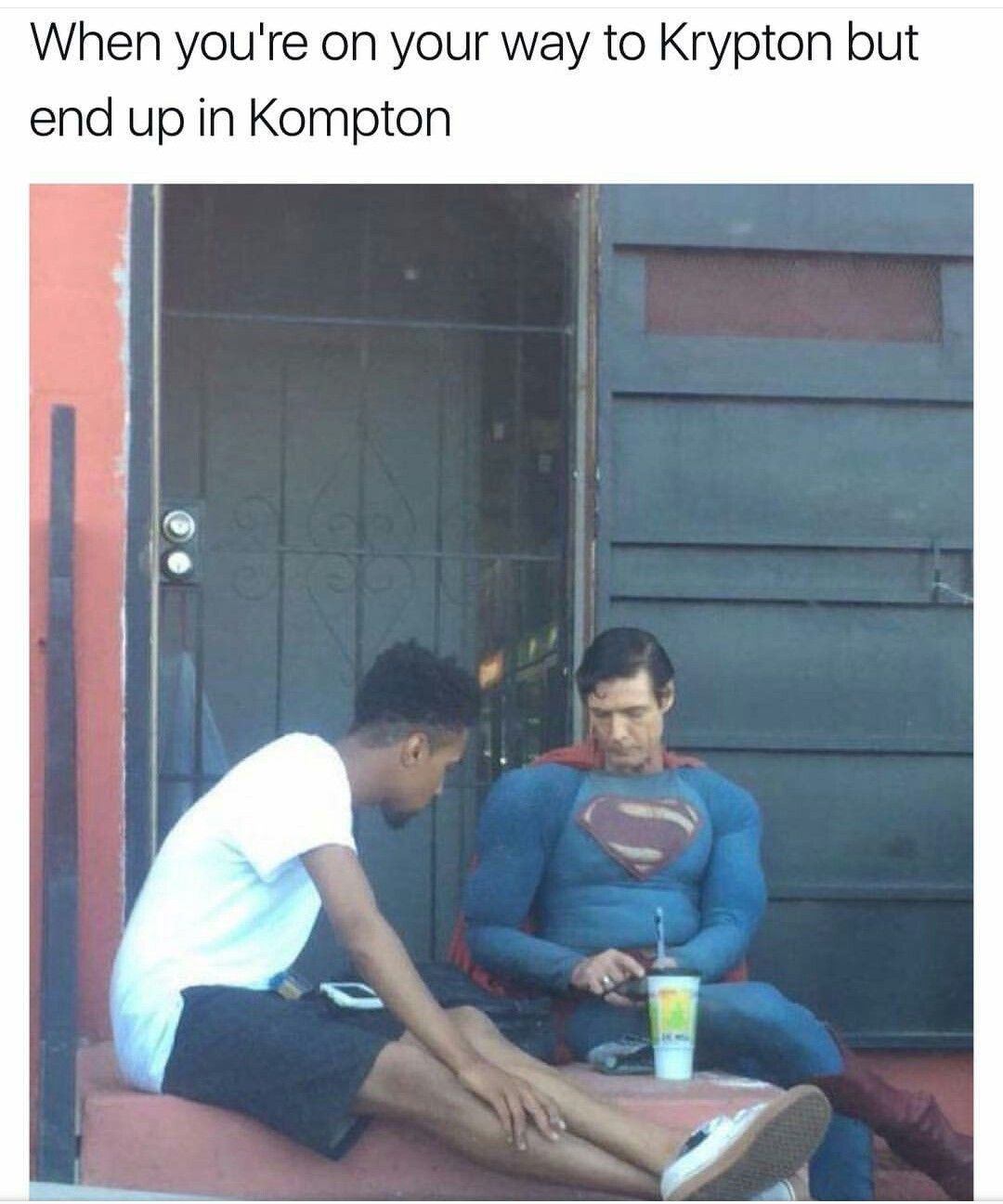 Kompton is a great planet - meme