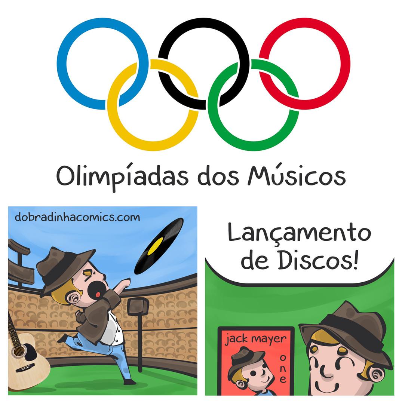 Olimpíadas dos Músicos - meme