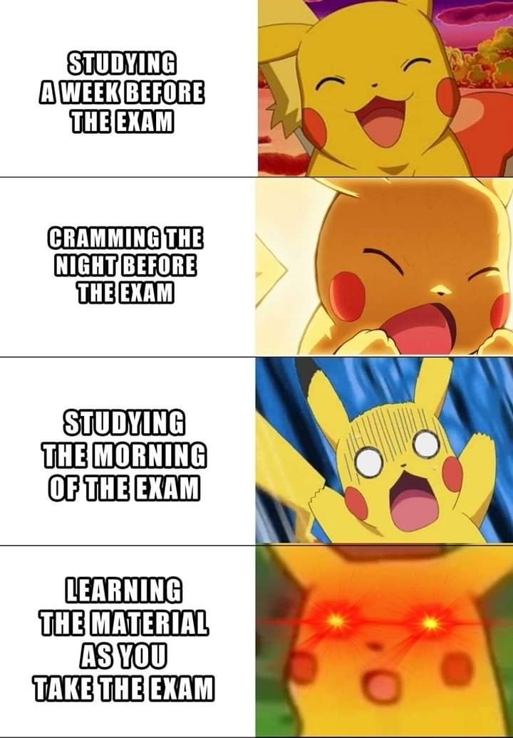 Expanding pikachu - meme
