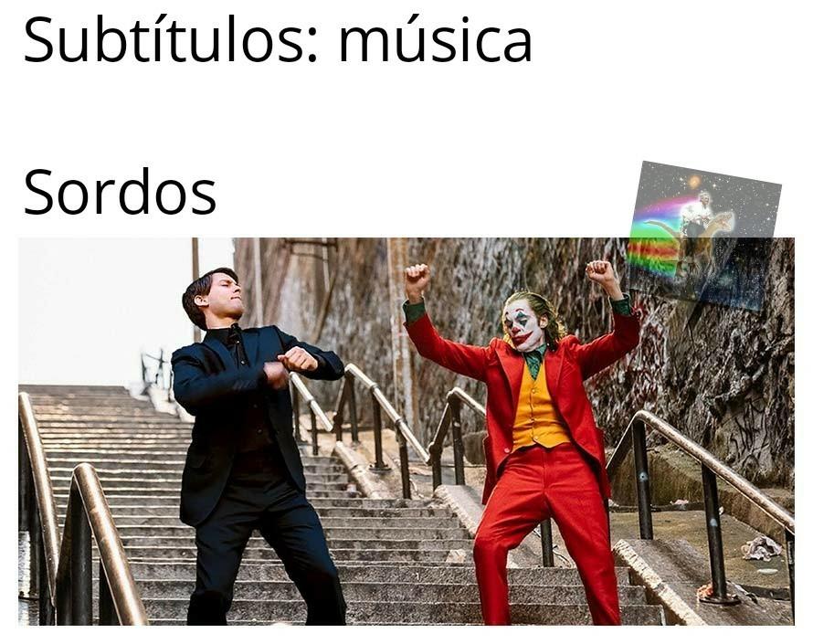 Sordos - meme