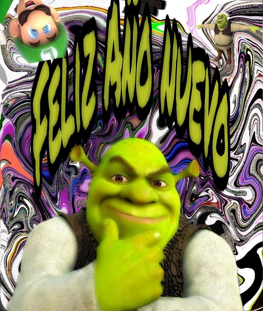 Feliz Shreckvidad - meme