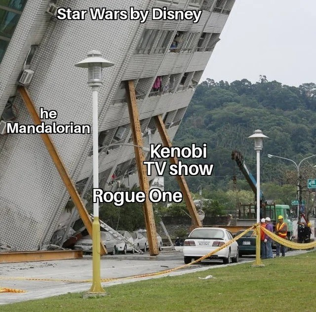 Disney Star Wars rn - meme