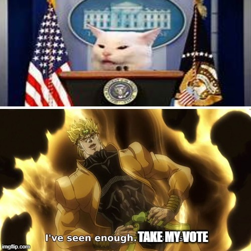 the president we need - meme