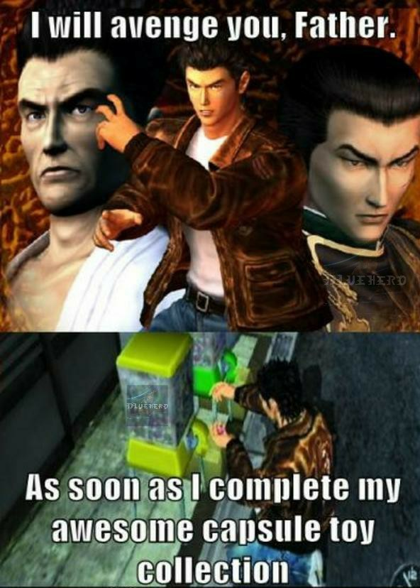 Just got shenmue, it's super detailed. Cool game so far. (10/26/20) - meme