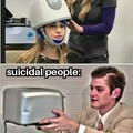The more suicidal people there are, the less suicidal people there are