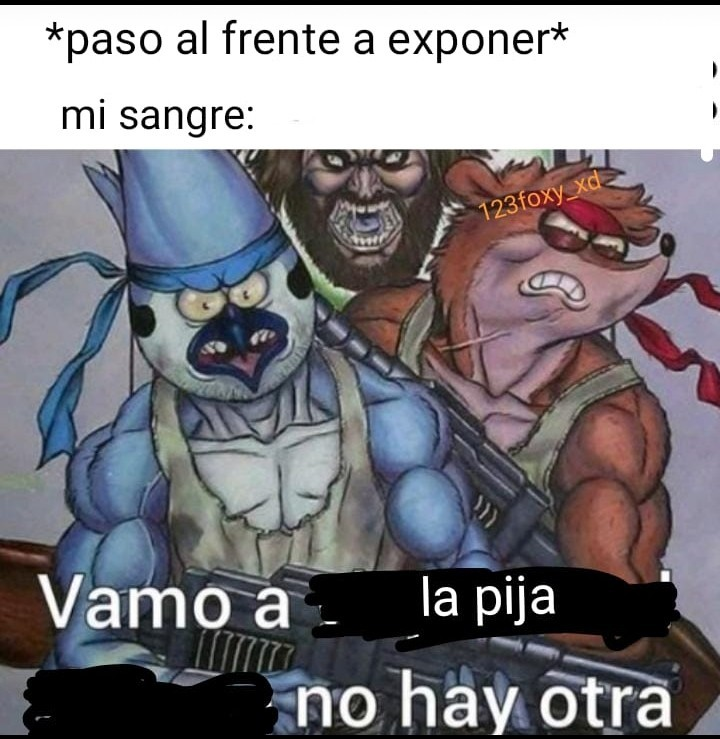 Gou to the pija no hay another - meme