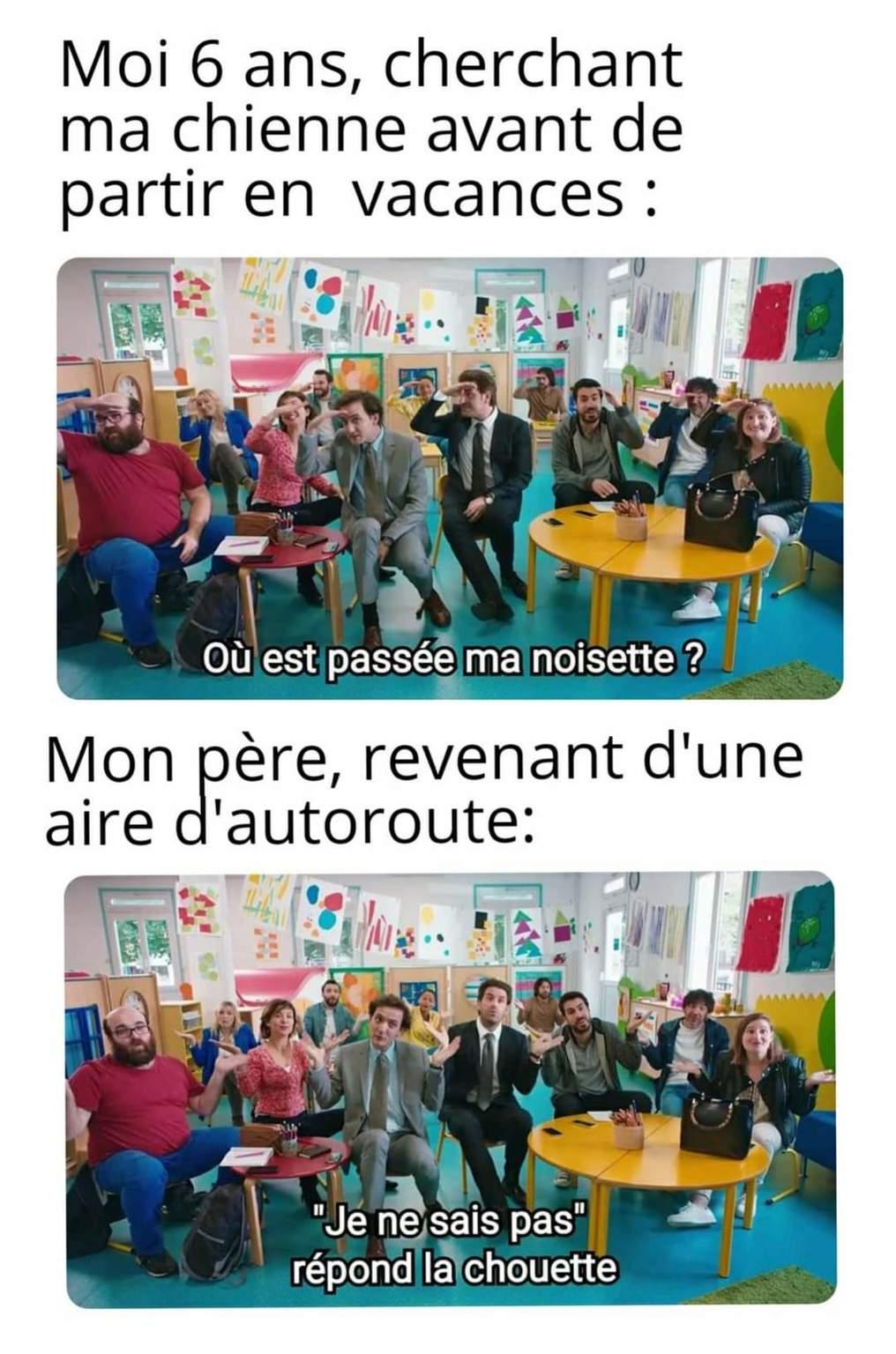 19h35 je sors du taf ಥ‿ಥ - meme