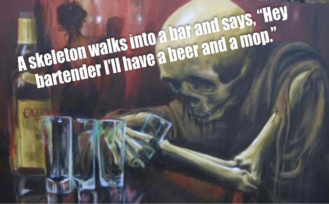 Dem dry bones! - meme
