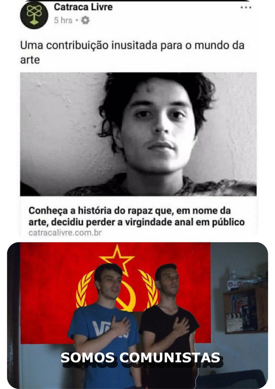 Mania de comunista - meme