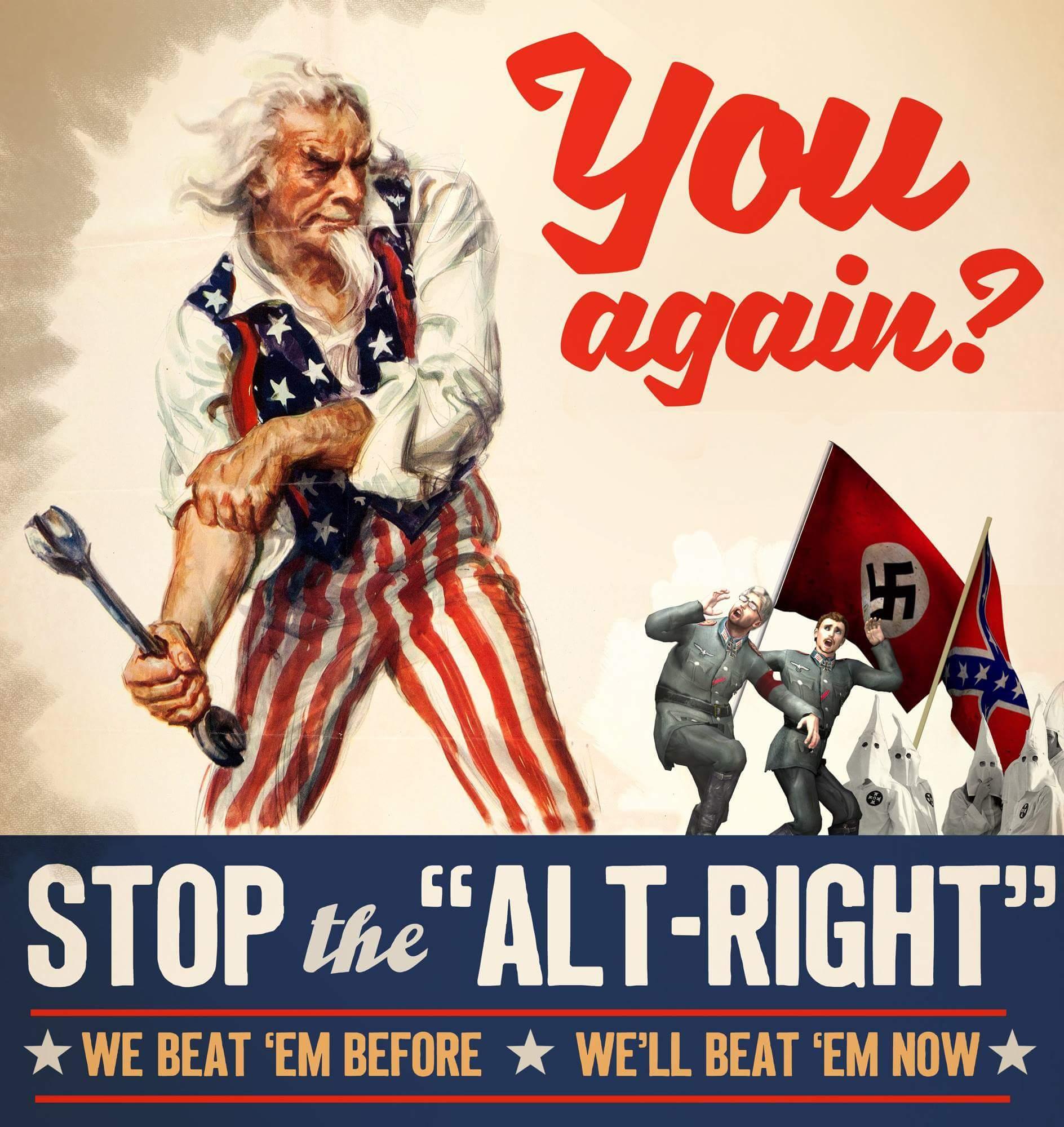 Fuck Nazi scum - meme