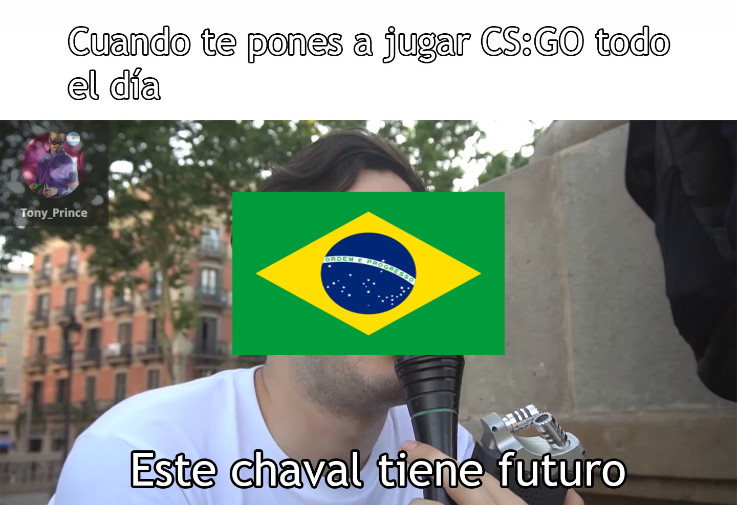 Brasileros everywhere - meme