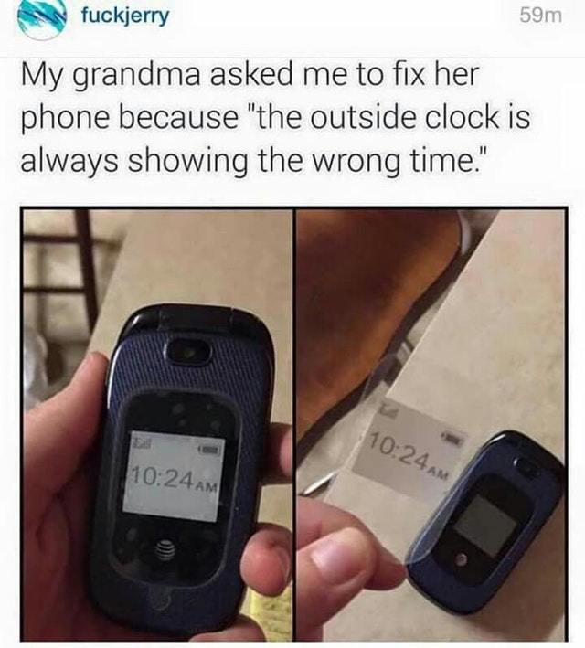 Grandma needs your help - meme