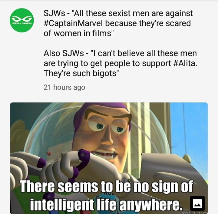 Geeks and Gamers meme