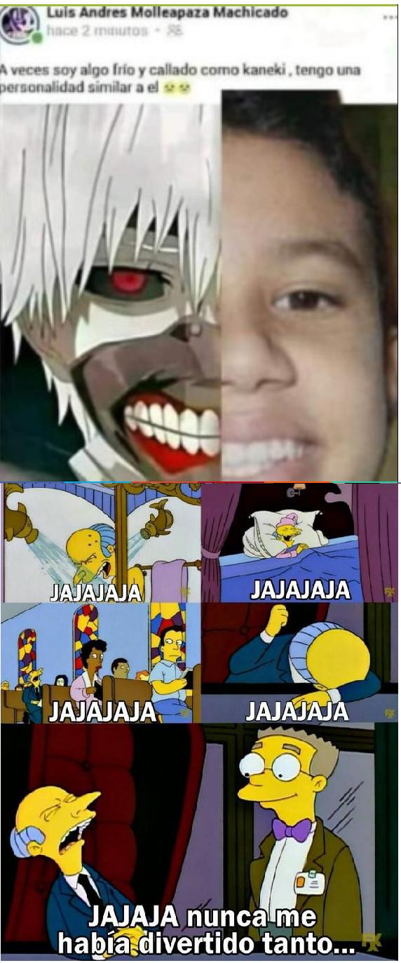 El niño rata putaku mas cringe - meme