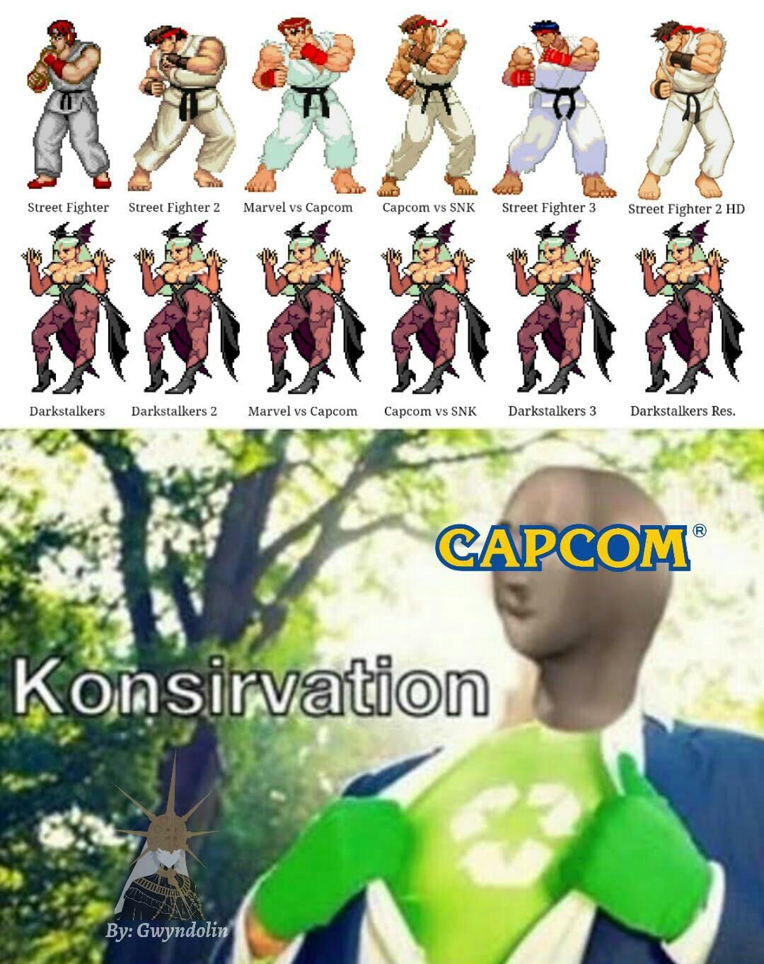 Capcom - meme