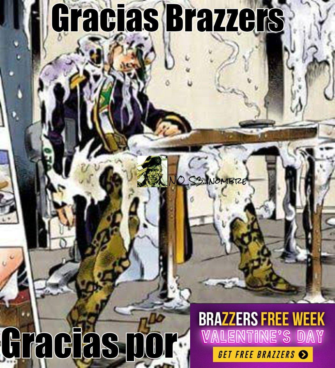 Gracias Brazzers. - meme