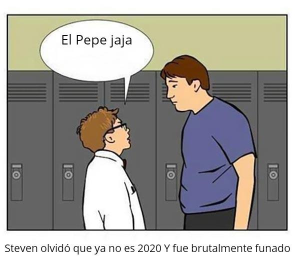 El Pepe ya no da gracia - meme