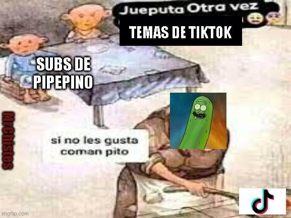 jueputa otra vez - meme