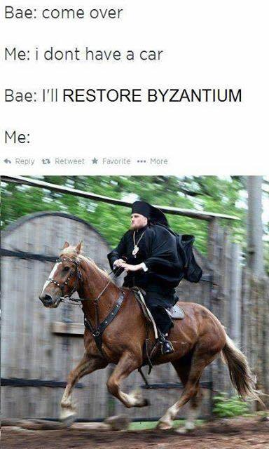 To the Constantinopole - meme