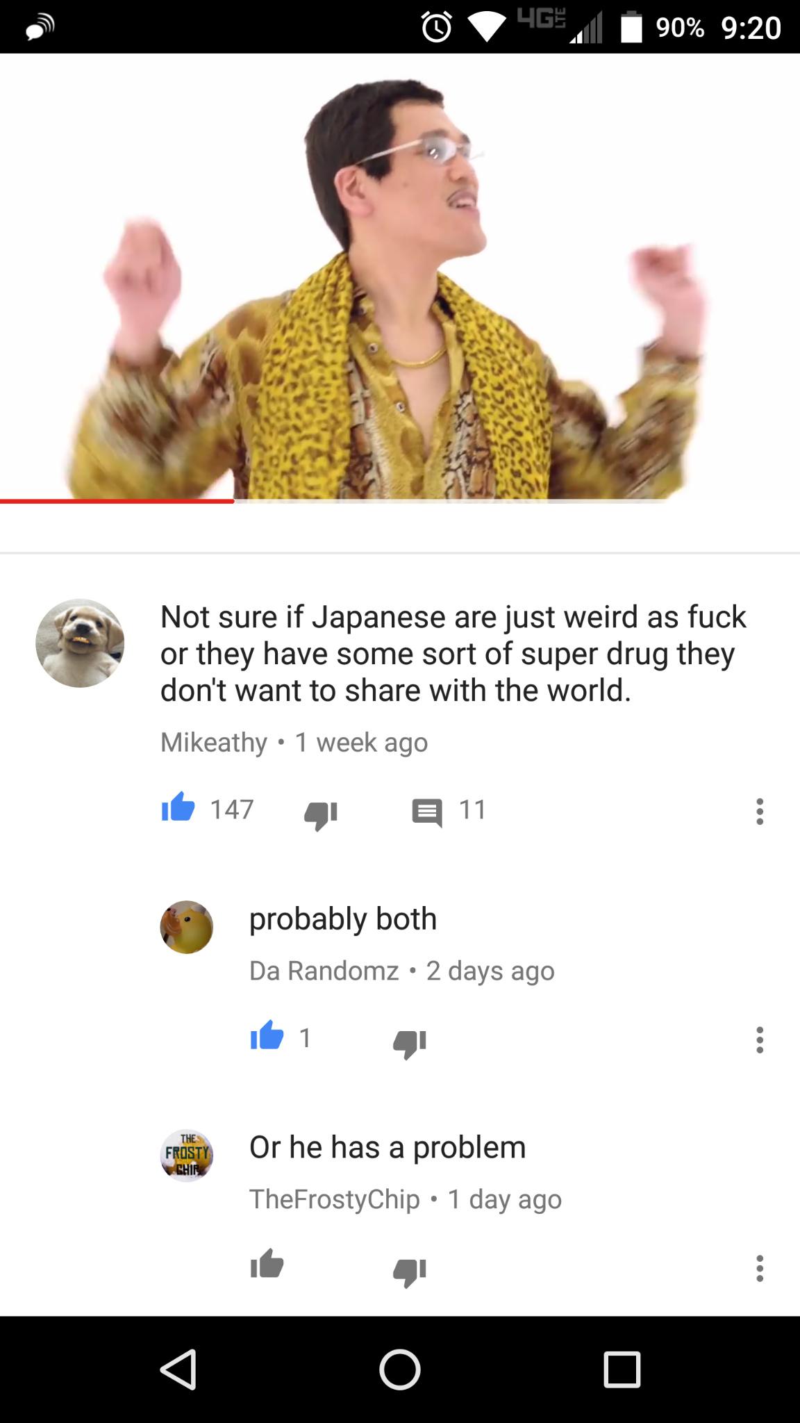 Think he's onto them - meme