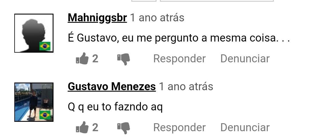 É Gustavo.... - meme
