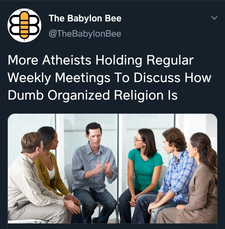 They're pretty passionate about a belief they simply lack - meme