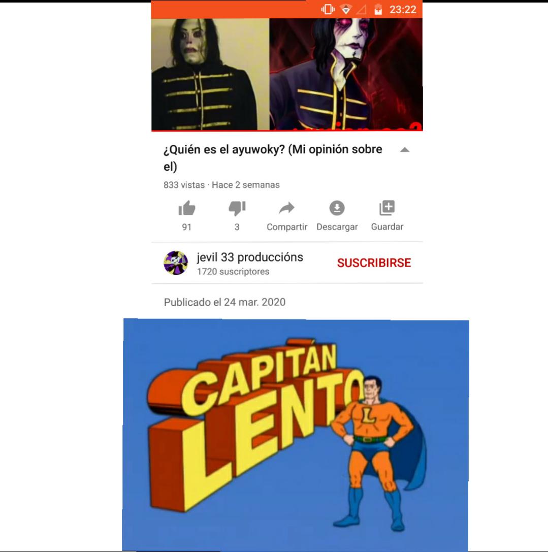 Soy pésimo editando - meme