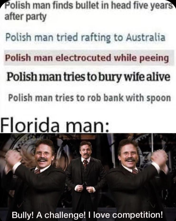 Florida is wack man - meme