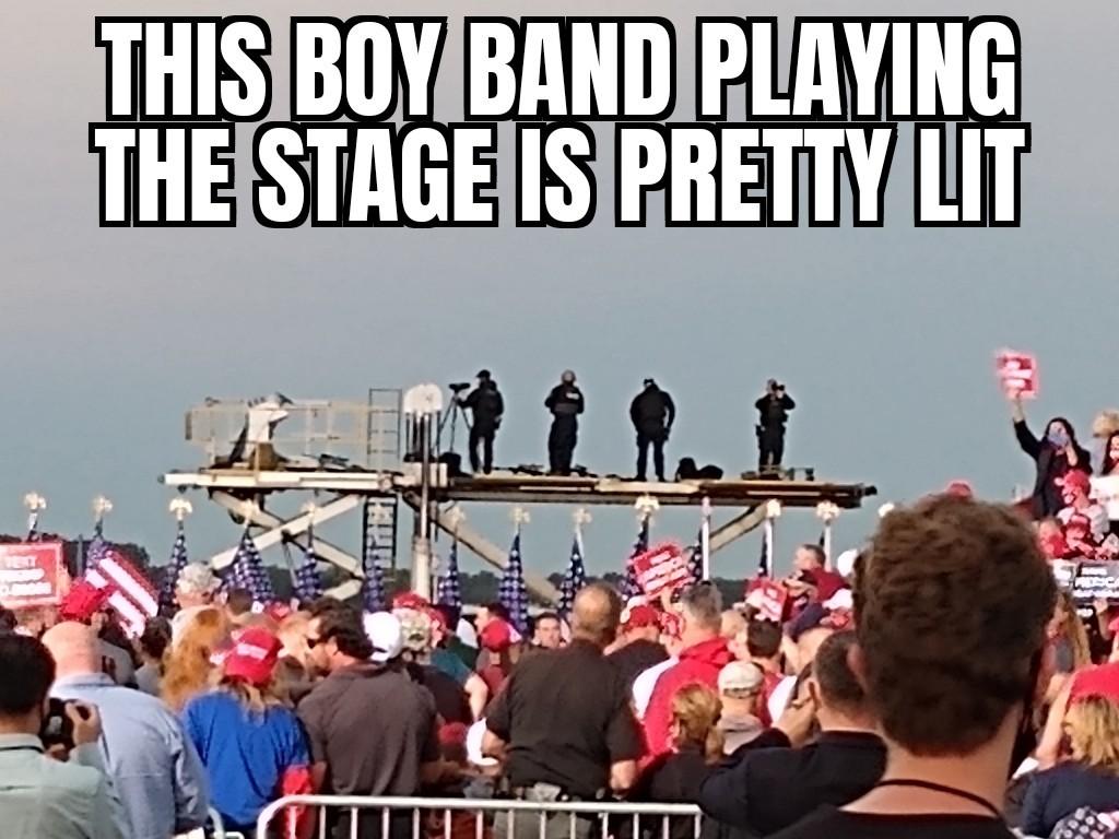 Boy band - meme